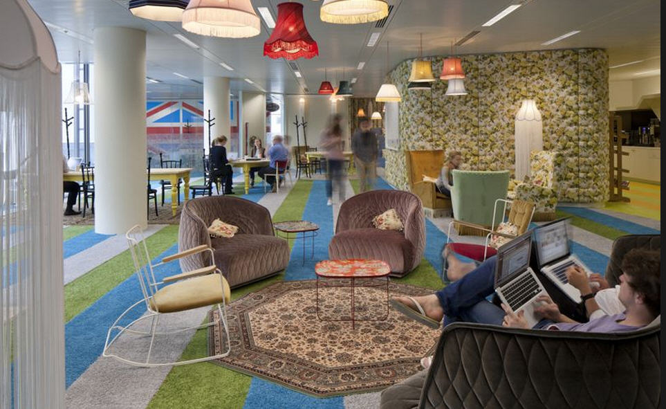 Google london office : les bureaux de google à londres