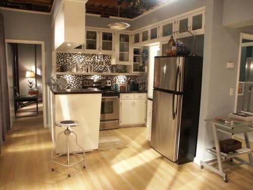 appartement de dexter cuisine