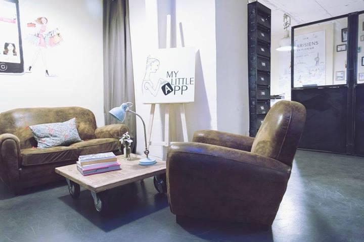 bureaux de my little paris app
