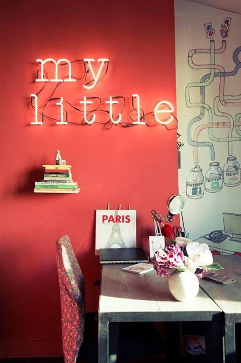 bureaux de my little paris neon