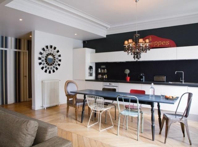 Pour la salle a manger ou la cuisine les chaises for Deco cuisine avec chaise en promo