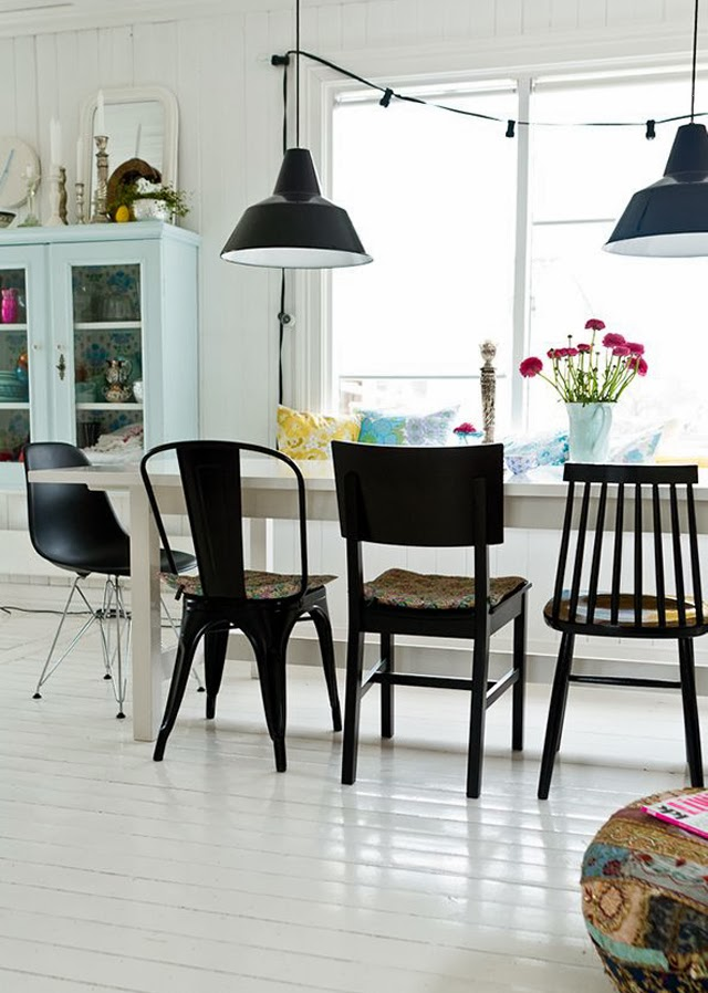 chaises depareillées