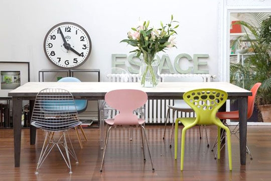 Pour la salle a manger ou la cuisine les chaises for Deco cuisine avec ou acheter des chaises