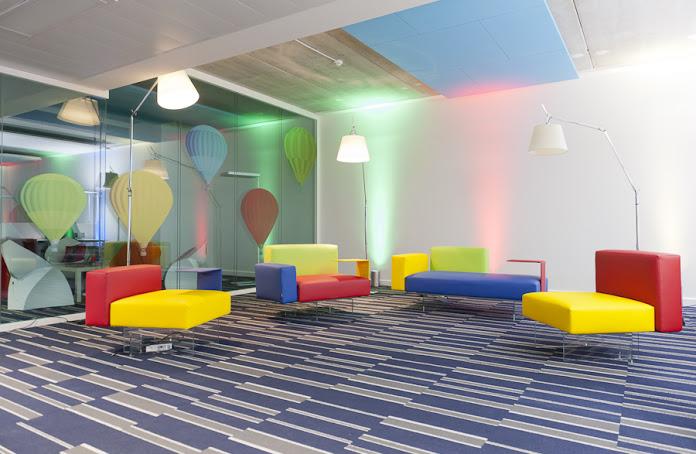 Visite des bureaux de google france à paris