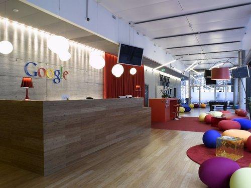 google zurich office hall