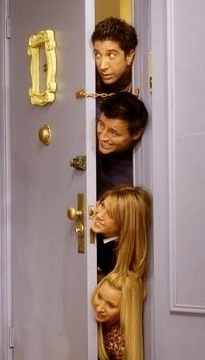 monica porte appartement friends