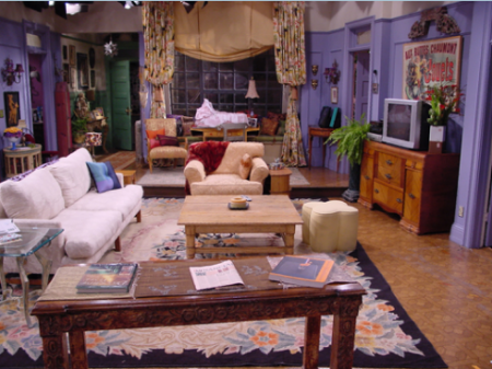 L 39 int rieur des s ries tv l 39 appartement de friends for Decoracion piso big bang theory