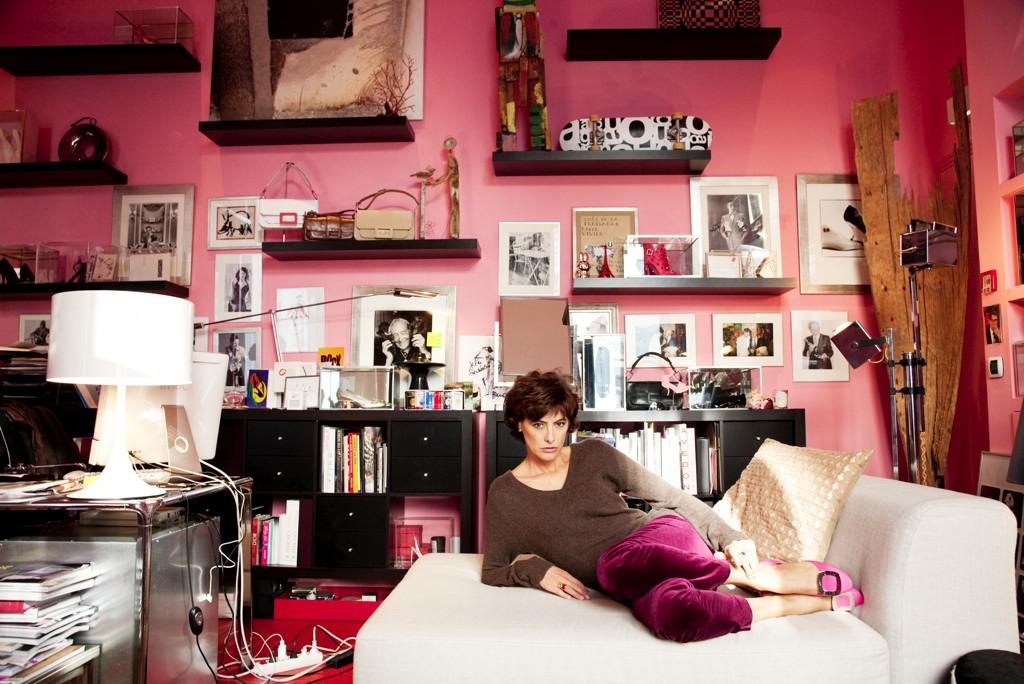 appartement d'Ines de la Fressange