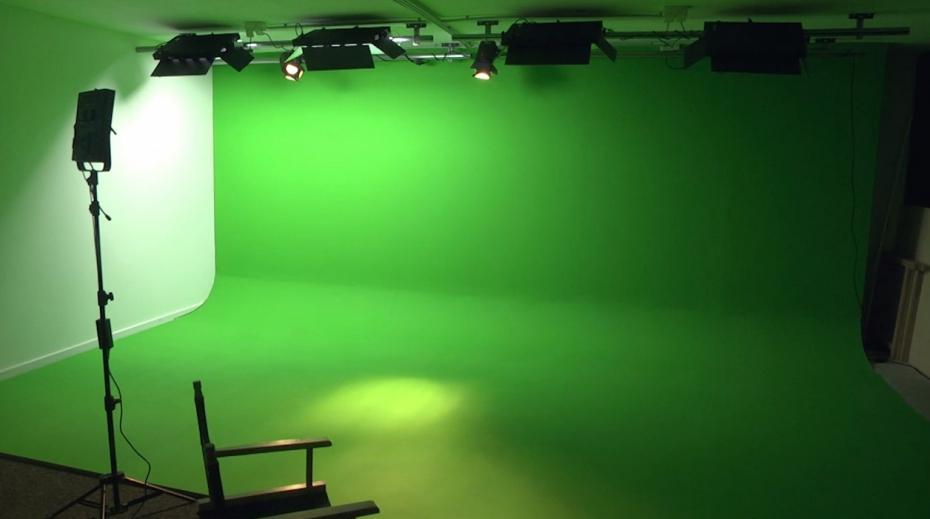 studio fond vert locaux de melty