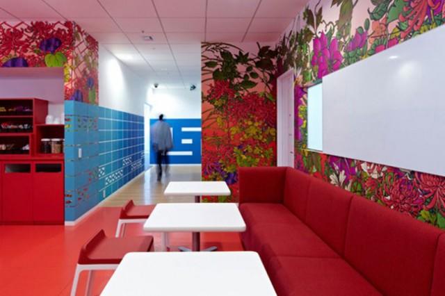 google tokyo office les bureaux de google tokyo. Black Bedroom Furniture Sets. Home Design Ideas