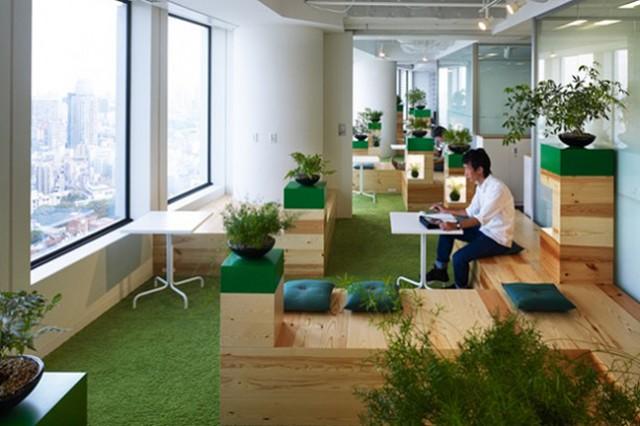 Google tokyo office zen