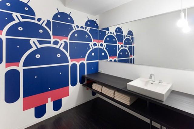bureaux de google a tokyo wc garcon