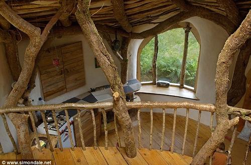 escalier hobbit