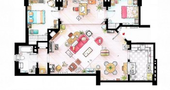 plan maison how i met your mother