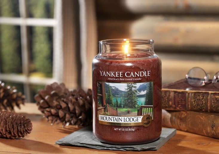 yankee candle bougie montagne