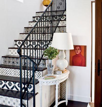 Escalier style espagnol