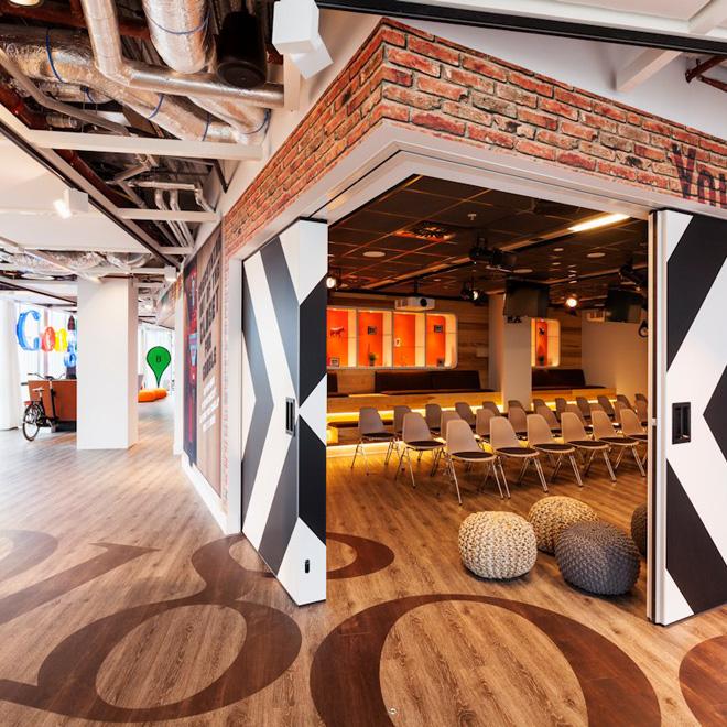 bureaux de google a amsterdam