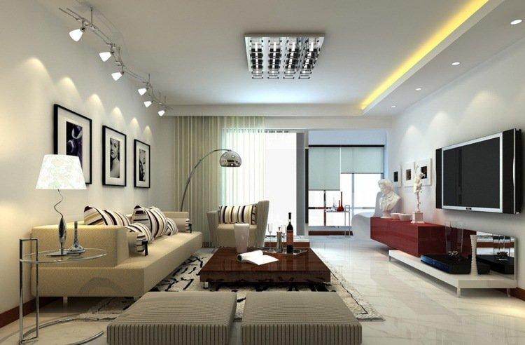 bien am nager son salon les conseils en appart. Black Bedroom Furniture Sets. Home Design Ideas