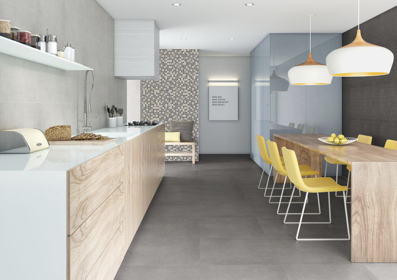 Tour d horizon sur les tendances en mati re de carrelage for Porcelanosa carrelage cuisine