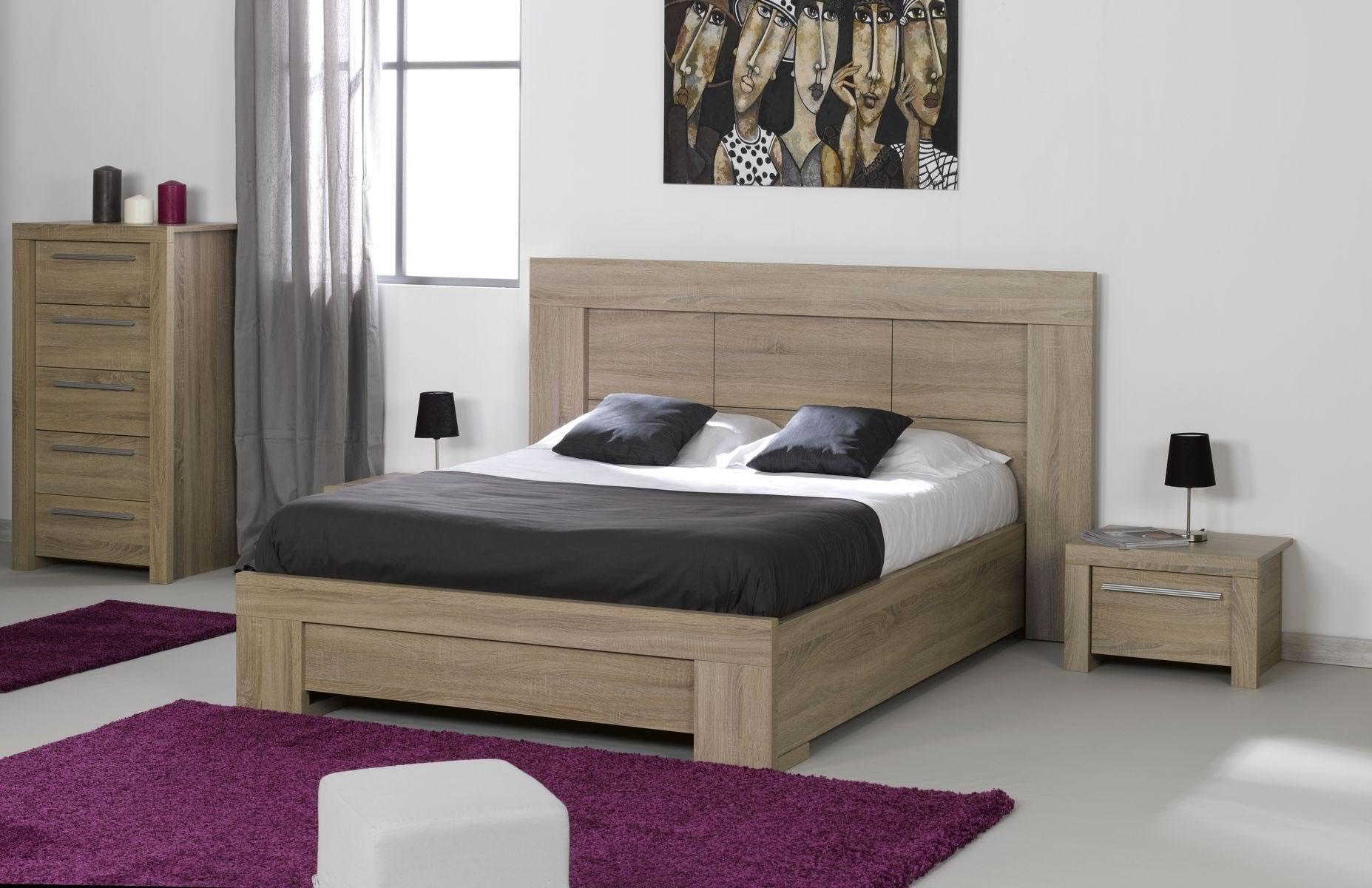 Chambre a coucher avec lit gigogne 084221 for Chambre a coucher lit